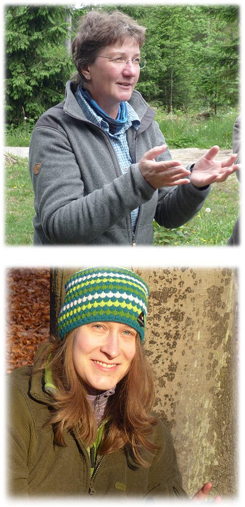 Almut und Hiltrud Moshammer, Team naturpädagogik